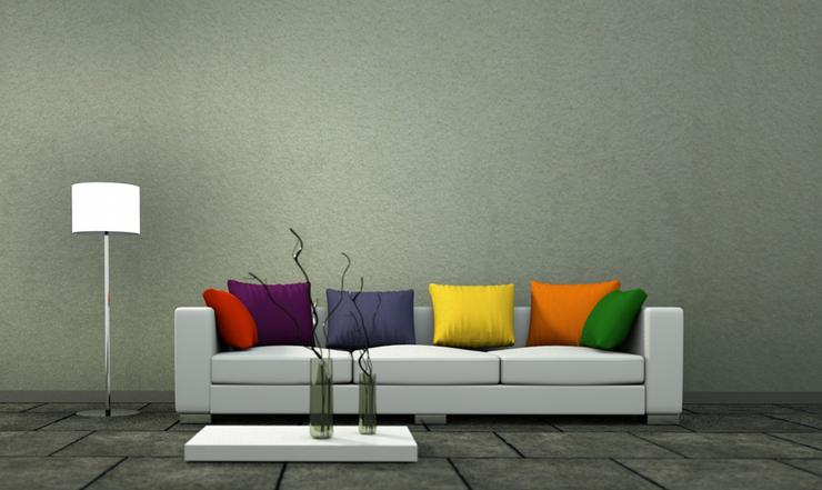 Ein stilvolles Ledersofa sorgt für einen eleganten Raumeindruck. (Symbolbild: @ virtua73 - fotolia.com)