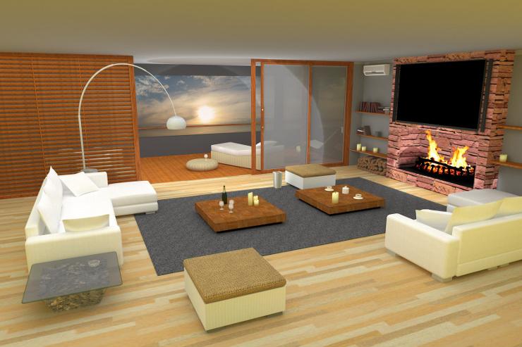 Polstermöbel schaffen eine Wohlfühlatmosphäre. (Bild: © ProMotion - Fotolia.com)