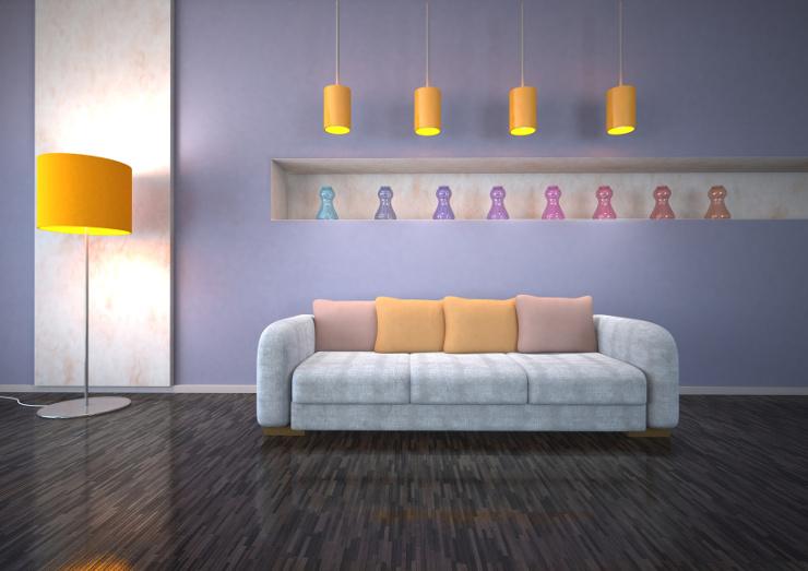 Schicke Polstermöbel zu finden ist nicht schwer. (Bild: © Style Media & Design - Fotolia.com)