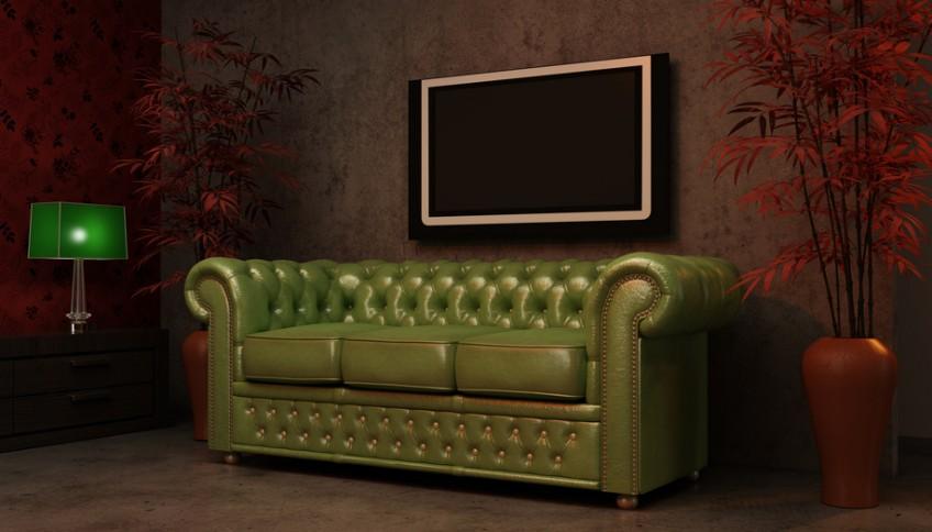 Chesterfield-Sofa bringt klassische Eleganz ins Haus