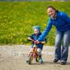 Spielwaren und Spielzeug für Kinder: das Laufrad