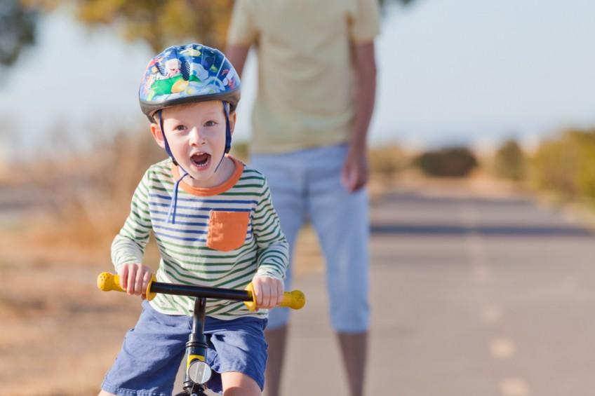 Spielzeug für Kinder: Das Laufrad liegt bei Spielwaren im Trend